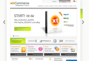 XTCommerce Webseite